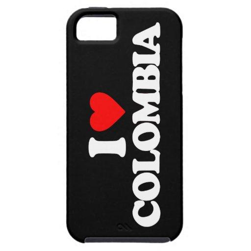 JAG ÄLSKAR COLOMBIA iPhone 5 Case-Mate SKAL