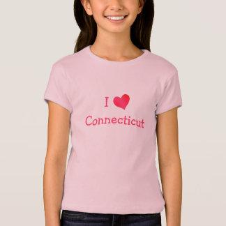 Jag älskar Connecticut T-shirts