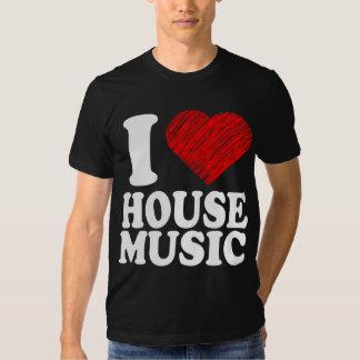 Jag älskar coola för konst för husmusikhjärta tröja