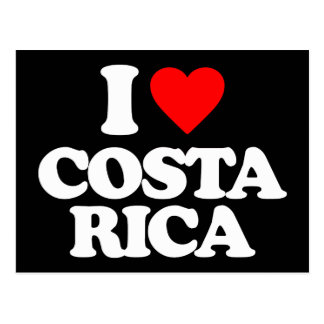 JAG ÄLSKAR COSTA RICA VYKORT