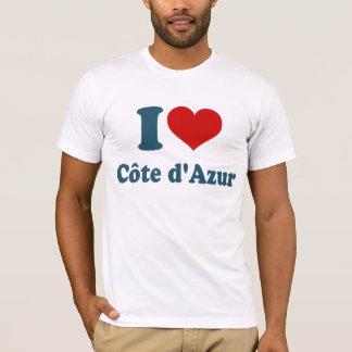 Jag älskar Cote Azur T Shirts