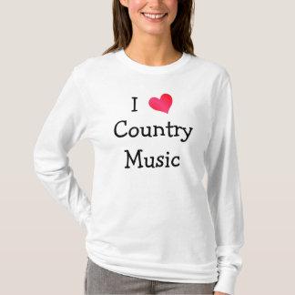 Jag älskar countrymusik tröja