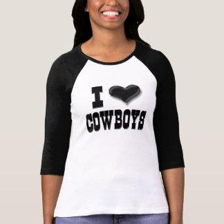 Jag älskar Cowboys Tshirts