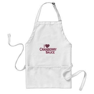 Jag älskar Cranberrysås Förkläde