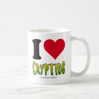 Jag älskar Cryptids Kaffemugg