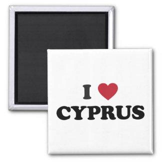 Jag älskar Cypern Magnet