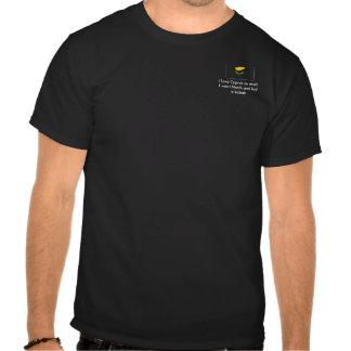 Jag älskar Cypern, så mycket som jag gick North oc Tee Shirt