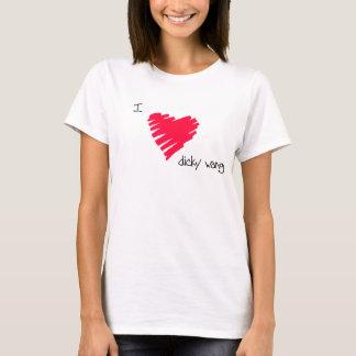 Jag älskar dåliga wang! t shirts