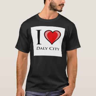 Jag älskar Daly City Tee Shirts