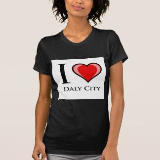 Jag älskar Daly City Tröjor