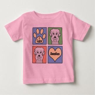 Jag älskar Dandie Dinmont Terriers T-shirt