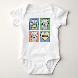 Jag älskar Dandie Dinmont Terriers Tröjor