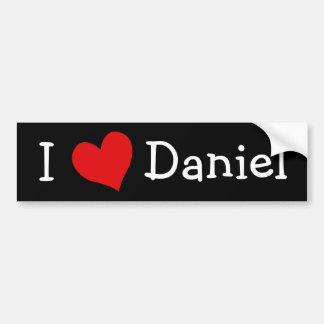Jag älskar Daniel Bildekal