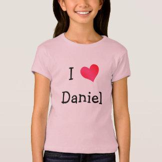 Jag älskar Daniel Tee Shirts
