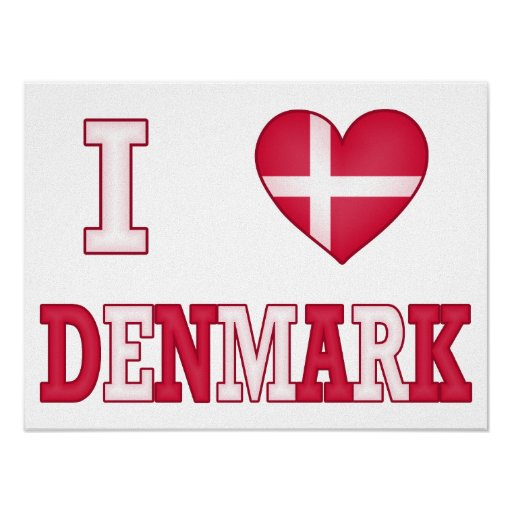 Jag älskar Danmark Affischer
