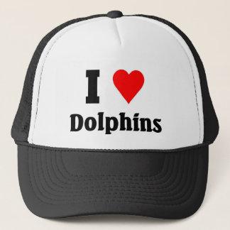 Jag älskar delfiner keps