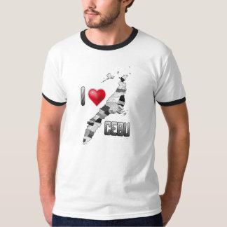 Jag älskar den cebu skjortan tee shirts