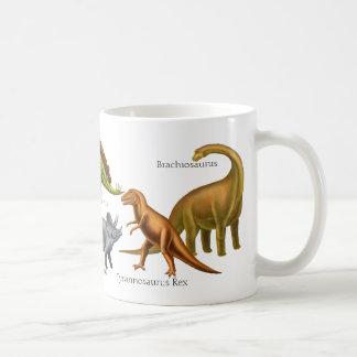 Jag älskar den förhistoriska Dinosaursmuggen Kaffemugg