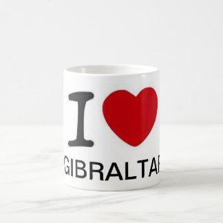 Jag älskar den Gibraltar muggen Kaffemugg