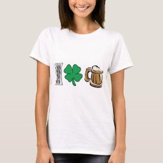 Jag älskar den gröna ölT-tröja T Shirt