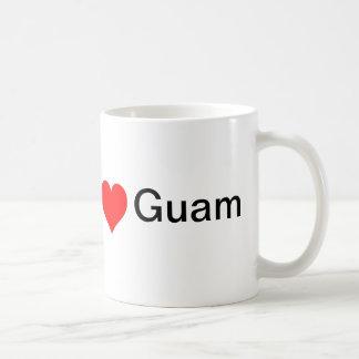 Jag älskar den Guam muggen Kaffemugg
