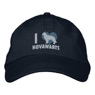 Jag älskar den Hovawarts broderade hatten (blått) Keps