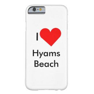 Jag älskar den Hyams stranden Barely There iPhone 6 Fodral