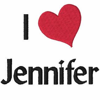 Jag älskar den Jennifer broderade skjortan