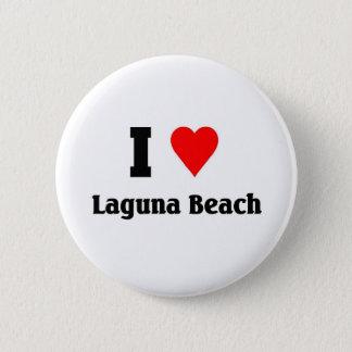 Jag älskar den laguna stranden standard knapp rund 5.7 cm