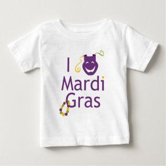 Jag älskar den Mardi Gras småbarnT-tröja Tee