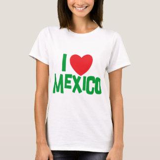 Jag älskar den Mexico dam tshirt Tröja