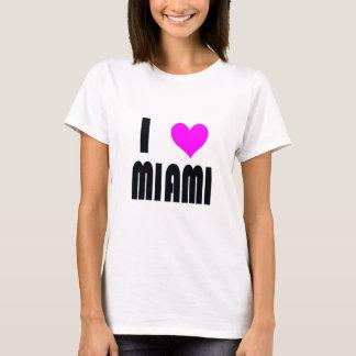 Jag älskar den Miami Florida USA t-skjortan Tee Shirts