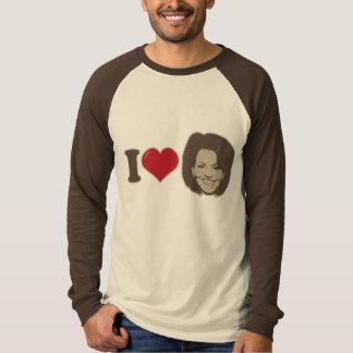 Jag älskar den Michelle Obama T-tröja Tee