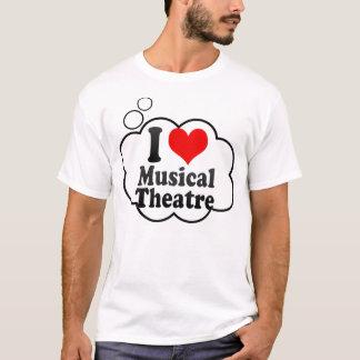 Jag älskar den musikaliska theatren t shirts
