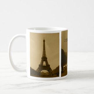 Jag älskar den Paris muggen Kaffemugg