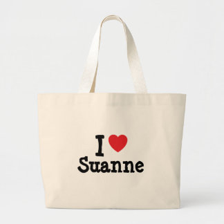 Jag älskar den Suanne hjärtaT-tröja Kassar