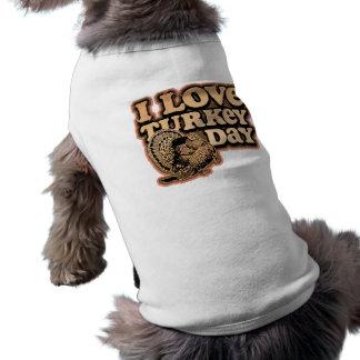 Jag älskar den Turkiet daghunden/den älsklings- T- Husdjurströja