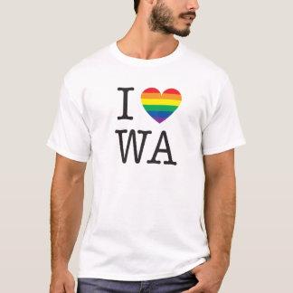 Jag älskar den Washington skjortan T Shirts