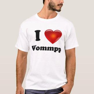 Jag älskar den Woommp skjortan Tee