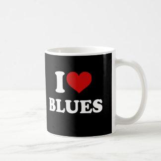 Jag älskar deppighet kaffemugg