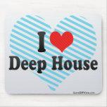 Jag älskar det djupa huset mus mattor