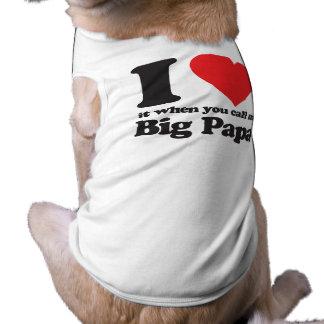 Jag älskar det när dig appellen mig den stora papp hundtröja