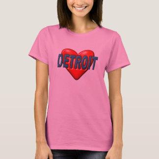 Jag älskar Detroit T-shirts