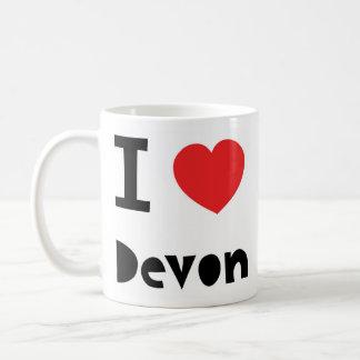 Jag älskar Devon Kaffemugg