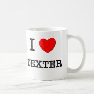 Jag älskar Dexter Kaffemugg
