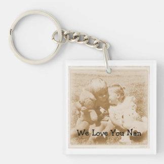 Jag älskar dig den Nan nyckelringen