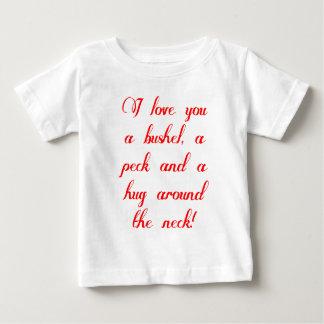 Jag älskar dig en bushel, ett hack och en kram tröja