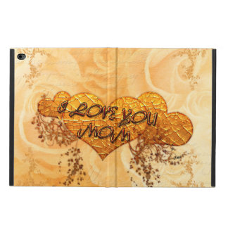 Jag älskar dig mamman med hjärtor och ro powis iPad air 2 skal