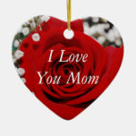 Jag älskar dig mammaprydnaden