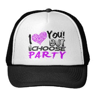 Jag älskar dig, men jag väljer partyet keps